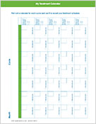 Treatment Calendar downloadable PDF